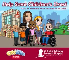 Guide to CityVille Jude Children's Research Hospital