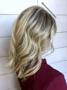 Blonde Shadow root!