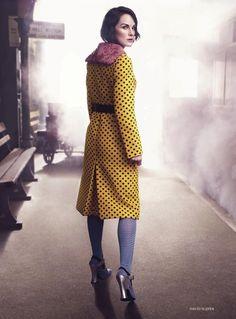Michelle Dockery by David Slijper for Harper's Bazaar UK August 2013