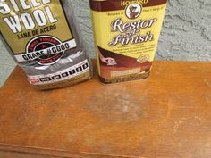 My Salvaged Treasures: Howard Restor-a-Finish Results.  Stuff is amazing, easy and inexpensive.  I am so excited to try this on my kitchen AND bathroom cabinets!
