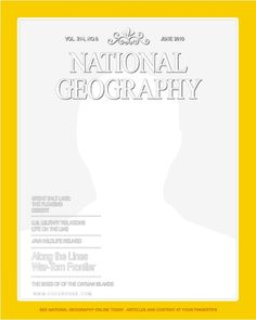magazine storyboard template - national geographic magazine used a computer digitizer on