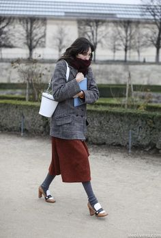 15 Winter Outfit Ideas That Are Anything But Boring via @WhoWhatWear