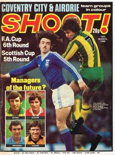 magazine in March 1980 featuring Ipswich Town v. West Brom on the cover. Old Football Boots, Football Soccer, Magazine Front Cover, Magazine Covers, English Football League, Ipswich Town, Coventry City, West Brom, Childhood Memories