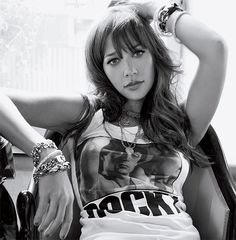 Rashida Jones we'd totally kick it.