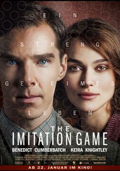 """Sometimes it's the people who no one imagines anything of who do the things that no one can imagine"" The Imitation Game Beautiful,but tragic movie!"