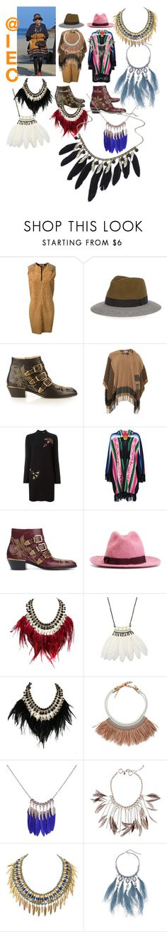 """Boho chic"" by kit92 ❤ liked on Polyvore featuring Yves Saint Laurent, Lanvin, Chloé, Patrizia Pepe, STELLA McCARTNEY, Sacai, Dsquared2, WithChic, Fiona Paxton and Gabriele Frantzen"