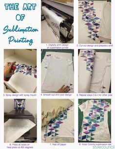 Style Council Blog - Digital Fabric Printing - The Art of Sublimation Printing