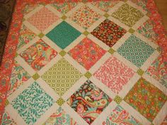 Jina's World Of Quilting- like this simple pattern