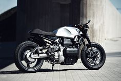 (BMW K75 by Renard Speed Shop) motorcycles, rider, ride, bike, bikes, speed, cafe racer, cafe racers, open road, motorbikes, motorbike, sportster, cycles, cycle, standard, sport, standard naked, hogs, hog #motorcycles