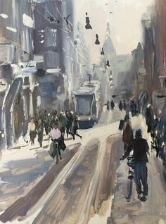 Ellen Davidzon is a Dutch Painter of atmospheric figurative and abstract paintings with subjects as Beach, City, People and her new Boundaries series. City Scene, Dutch Painters, Amsterdam, Sculptures, Street View, Beach, Winter, Olie, Art