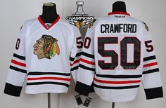 http://www.xjersey.com/blackhawks-50-crawford-white-2015-stanley-cup-champions-jersey.html BLACKHAWKS 50 CRAWFORD WHITE 2015 STANLEY CUP CHAMPIONS JERSEY Only 47.31€ , Free Shipping!