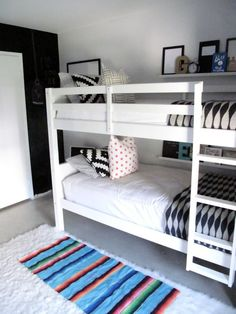 A High Contrast Room for Two My Room | Apartment Therapy