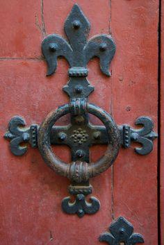 Door Knocker, Mont-St-Michel | by Peter Cook UK