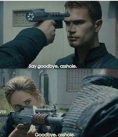 Divergent Eric, Four and Tris