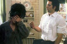 Loretta Castorini (Cher), Ronny Cammareri (Nicolas Cage) ~ Moonstruck (1989) ~ Movie Stills #amusementphile