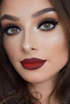 Maquillarse Los Ojos Para Un Vestido Rojo Maquillaje Pinterest