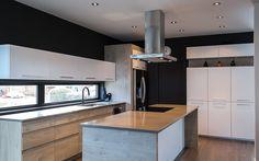 Home Decor Kitchen, Home Decor Bedroom, Interior Design Living Room, Kitchen Design, Kitchen Benchtops, Kitchen Cupboards, Casa Loft, Kitchen Remodel, House Design