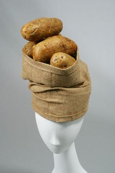 Sack of Potatoes Turban by Raymond Hudd |