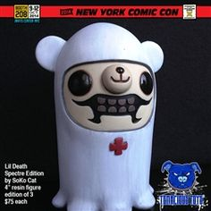 NYCC Exclusive Lil Death Spectre Edition resin figure by SoKo Cat