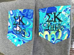 2 v neck greek letters lilly pulitzer big by shopallieanderson