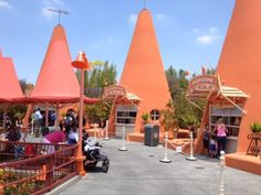 Some more photos from around Cars Land