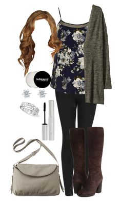 """Lydia Martin Inspired Fall Outfit"" by lili-c ❤ liked on Polyvore featuring Topshop, Dorothy Perkins, H&M, Ash, Mossimo, e.l.f. and Monet"