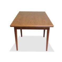 Danish Modern Dining Table by AM Mobelfabrik  — dejavu | losangeles