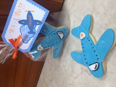 Airplane cookies