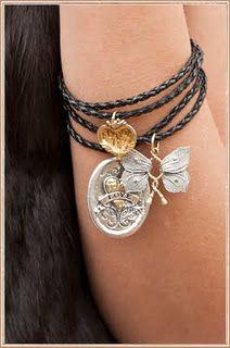 Waxing poetic..unique charm bracelet