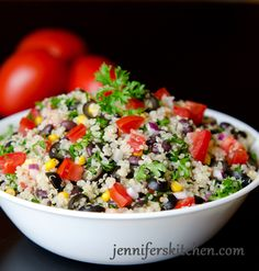 Mexican Quinoa Salad and the Secret to Delicious Quinoa