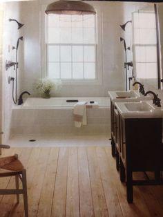 Modern farmhouse bathroom | ⋘Home⋙ | Pinterest