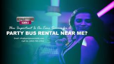 How Important Is On-Time Service for A Party Bus Rental Near Me? Booking a Party Bus Rental Near Me may seem relatively easy enough. You find out abou Party Bus Rental, Chartered Bus, Two Decades, Limo, Customer Support, Buses, Easy, Customer Service, Busses