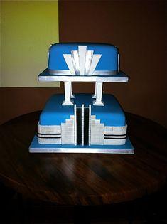 Cake Art Decor Nr 10 : 1000+ images about Art deco cake on Pinterest Art deco ...