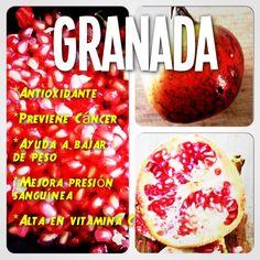 Beneficios de comer Granada