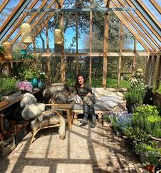 Hverdagsaktivistens guide til krisetiden – Nr 7 – drivhus Garden Buildings, Guide, Outdoor Furniture, Outdoor Decor, Pergola, Plants, Greenhouses, Cutting Boards, Daybed