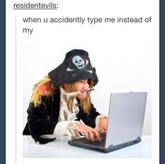 Hahahaha!! It truly does make me feel like a pirate every time!!