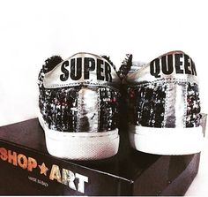 COOL SHOES #shopart #shopartmania #adorage #style #nothingbetter #silver #boucle #shoes #fallwinter15 #superqueen