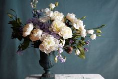 """Lindsey Taylor, """"A Sargent-Inspired Winter Bouquet,"""" The Wall Street Journal (5 January 2015). For a post-holiday-mania arrangement, floral designer Lindsey Taylor finds inspiration in a tranquil John Singer Sargent portrait."""