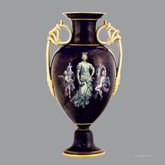 A Meissen Limoges Enamel Pate-Sur-Pate Vase, circa Raphael Paintings, Enamel, Vase, Home Decor, Homemade Home Decor, Flower Vases, Enamels, Jars, Vitreous Enamel