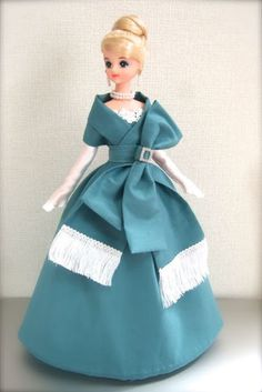 Jenny and I: イブニングドレス(ターコイズ) Evening Dress(Turquoise)