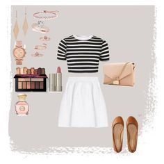 """""""Untitled #218"""" by rowanstella on Polyvore featuring malo, Topshop, Aéropostale, Whistles, CARAT* London, Tiffany & Co., FOSSIL, Kendra Scott, Ilia and Tory Burch"""