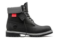 Description & features Timberland limited-edition Helcor® leather boots have the recognizable styling of our original waterproof boots, but in colors and materials that are only available for a short