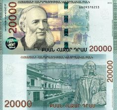 Armenia 2000 New Design 2018 P-NEW UNC /> Hybrid Polymer 2,000 Dram
