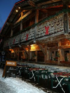 Les Gets - Ski station of the Haute-Savoie, France