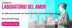Video en youtube; Laboratorio del Amor. Coral Herrera Gómez
