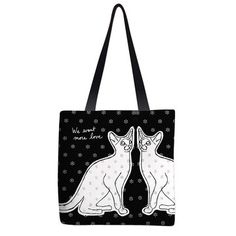 Currently inspired by: We Want More Love Tote on Fab.com