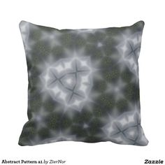 Abstract Pattern a1 Throw Pillow