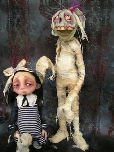 Gail Lackey ooak dolls