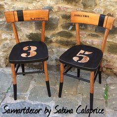 """Explore our internet site for even more relevant information on """"bistro furniture french"""". It is a great place to learn more. Chair Makeover, Furniture Makeover, Painted Chairs, Painted Furniture, Furniture Projects, Diy Furniture, Furniture Design, Chaise Diy, Bistro Chairs"""