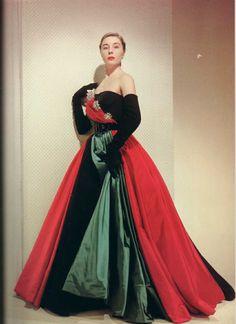 Jacques Fath dress, 1951